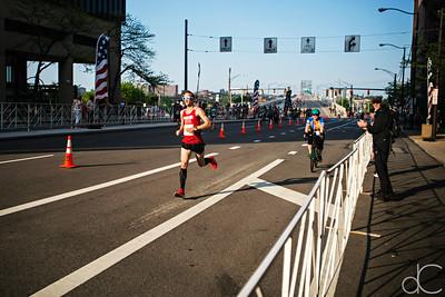 Men's Half Marathon Winner Ken Sullivan, Rite Aid Half Marathon, May 19, 2019.