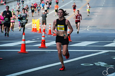 Women's Half Marathon Third Place Finisher Brooke Tulles, Rite Aid Marathon, Half Marathon, and 10K, May 19, 2019.