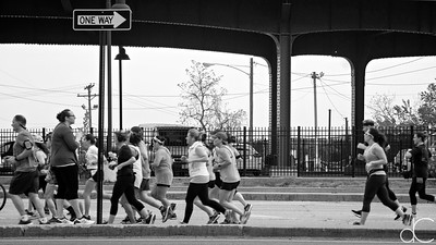 Lakeside Avenue, Rite Aid Cleveland Marathon, Half Marathon and 10K, May 19, 2019.