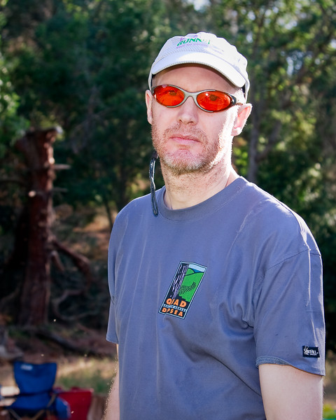 In early 2009, Don coaxed me into running the Ohlone 50K. At that time, I had no idea that Ohlone was regarded as one of the harder 50Ks around! Photo by Brian.