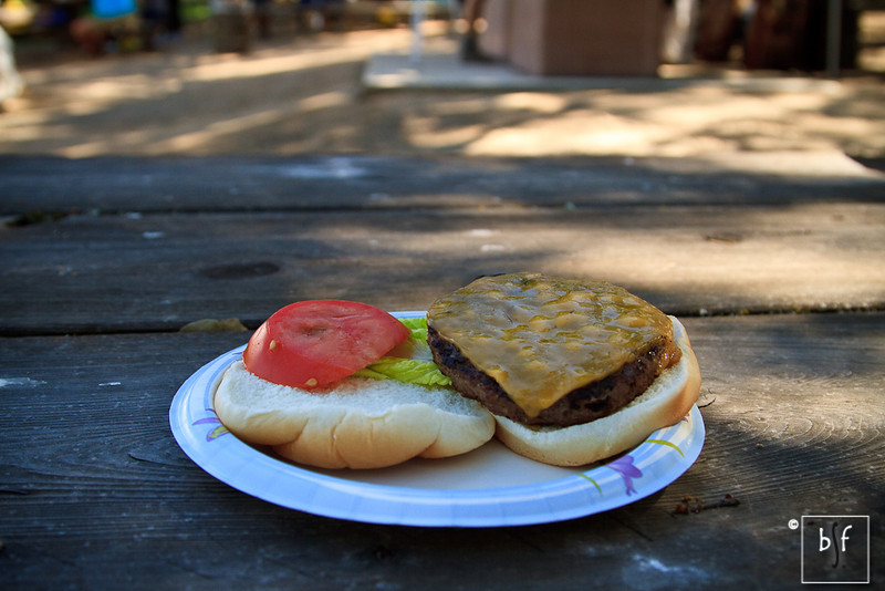 As usual, I didn't have much of an appetite after the race. But not to worry, Shalimar ate this cheeseburger for me. Thank you Shalimar for taking all the photos, driving me to and from the race, and for all your love and support!