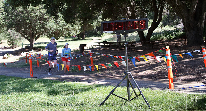 With Western States 100 coming up in June and Badwater in July, Don and Gillian were using this little race as a training run.