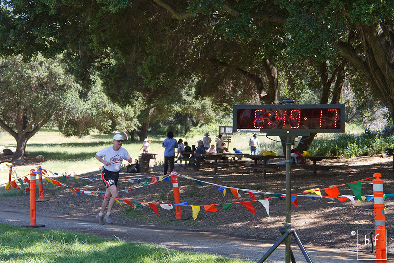A great finish by Wally Hesseltine, age 66! I still have a few years to catch up to his time. ;-)