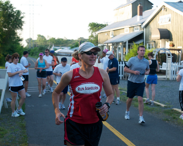 Ashburn Area Running Club Breakfast on the Trail/Distance Training Program Kickoff: On the run