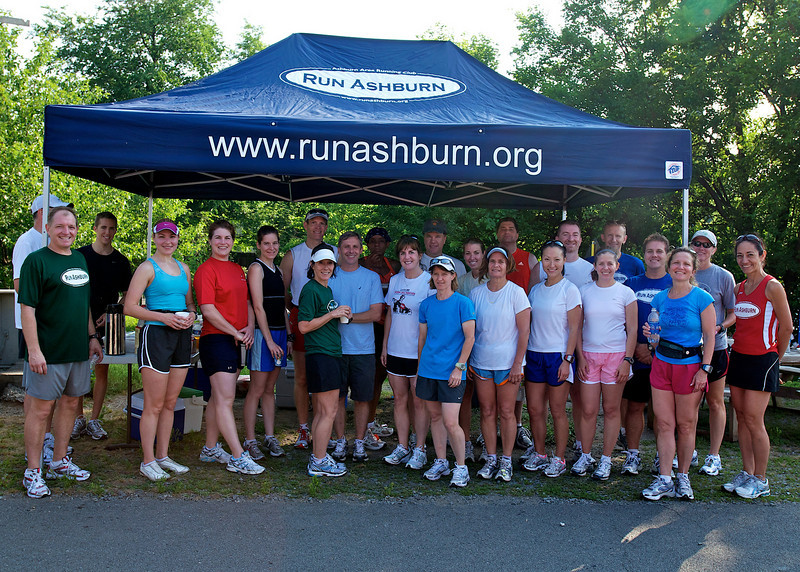 Ashburn Area Running Club Breakfast on the Trail/Distance Training Program Kickoff: Good Attendance this morning