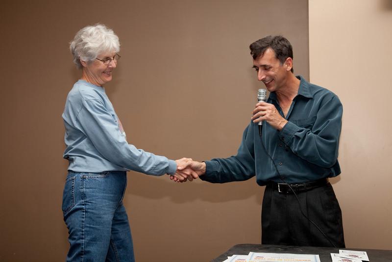 Sharon Ross and David