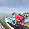 Thunderbird Paddleboard Race 2014 : June 14, 2014   Thunderbird Paddleboard Race at Sand Harbor.       Results & Bib numbers:  8 Mile SUP: Overall   Class  Class-Age Browse thumbnails below or SEARCH by Bib number and other options above.     How to order photos  Download ALL your photos Jump to: Start Return Thunderbird Lodge