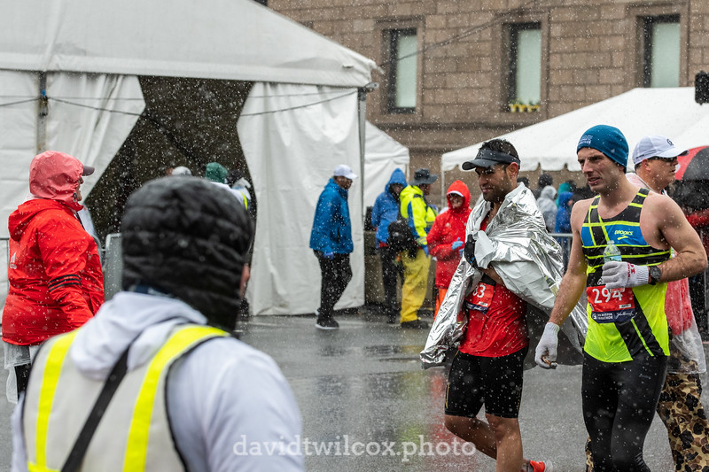 Race is Over,  But Not the Rain