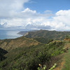 Back side of the island (look at the trail that leads off into the distance) YIKES~~!!!