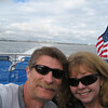 On the trip over to Catalina Island levaing LONG BEACH behind