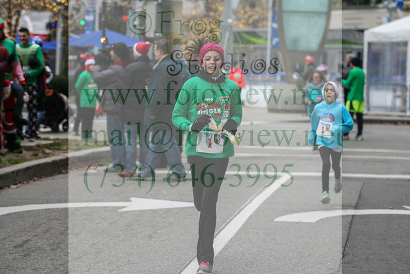 Jingle Bell Run-Detroit 3 Dec 2016