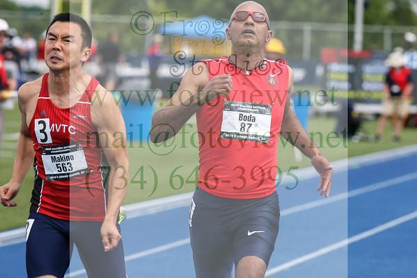 20160715 USATF Masters Championships M 50 100m prelim