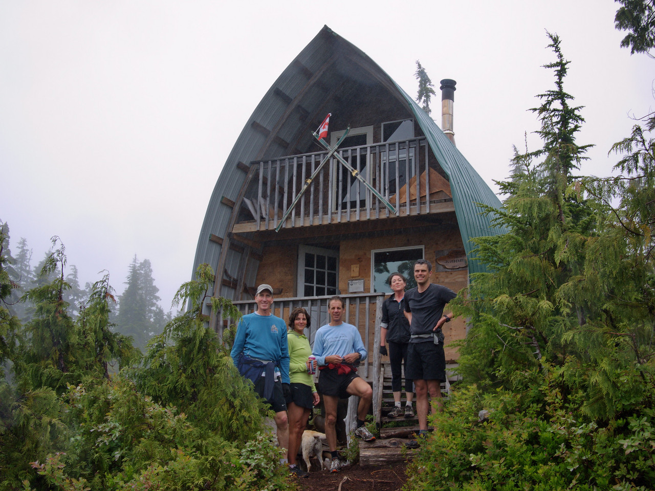 Blueberry Hill Cabin.