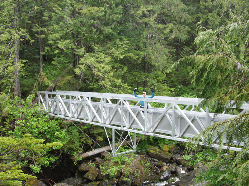 Bridge over Gain Creek.