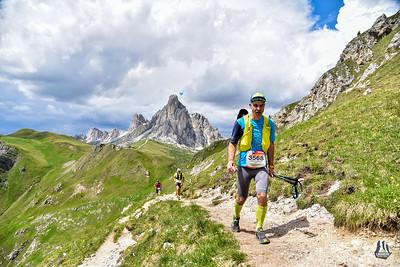 Italy Italien Cortina Lavaredo Trail