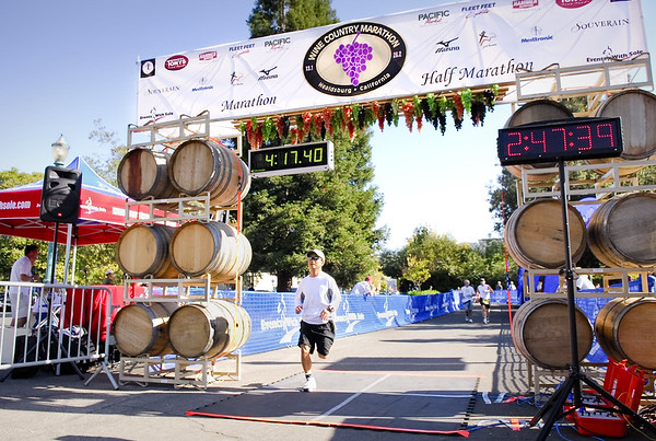 2008 Healdsburg Wine Country Marathon