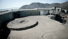 Emplacement for Gun 2 (removed) at Battery Spencer.