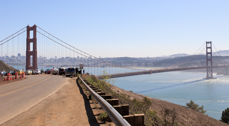 Shalimar's view of the Golden Gate Bridge. Photo by Shalimar.