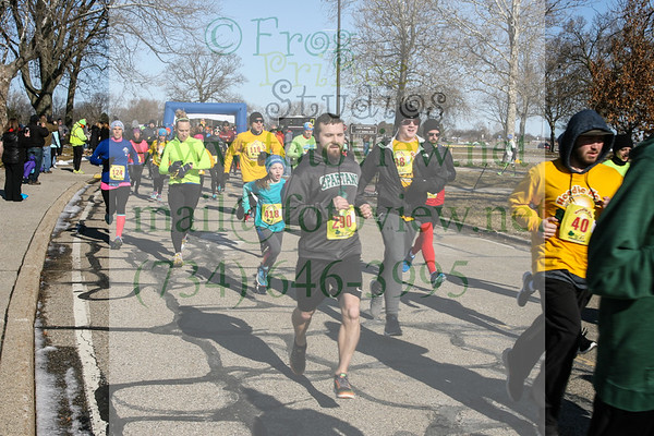 Hoodie Hoo Run 3 Mar 2018