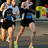 National Marathon: 4th place Dustin Whitlow (#6), 9th David Miller(#7) of Arlington VA near the 10K mark