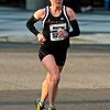 National Marathon: Half Marathon 1st place Christine Ramsey (Baltimore MD) near the 10K mark