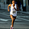 National Marathon: The front runners. Half Marathon 1st place Gurmessa Mergessa