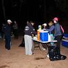 Mile 8 aid station