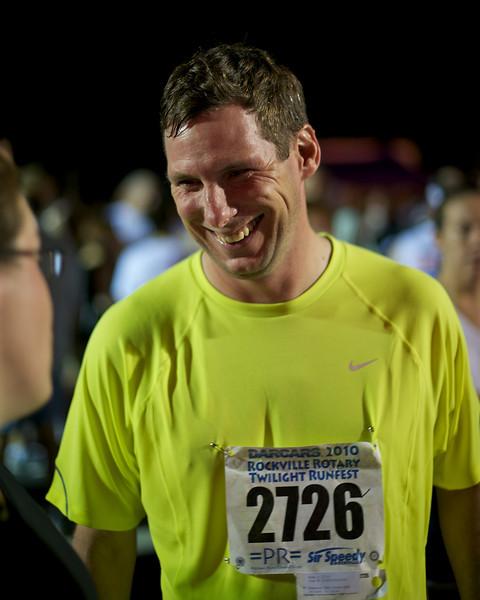 Rockville Twilight 8k: Ron post race