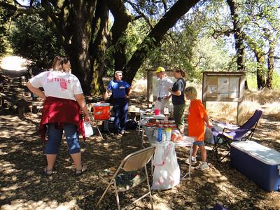 Stevens Creek 50K, 2010-08-15