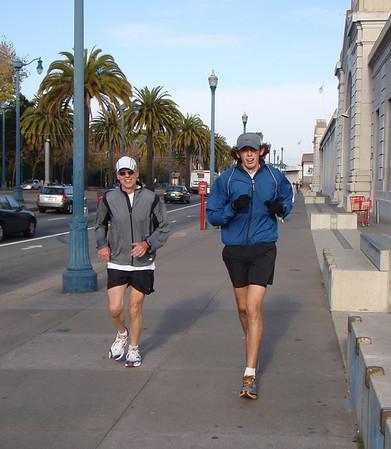 The Great AGU Run of 2008
