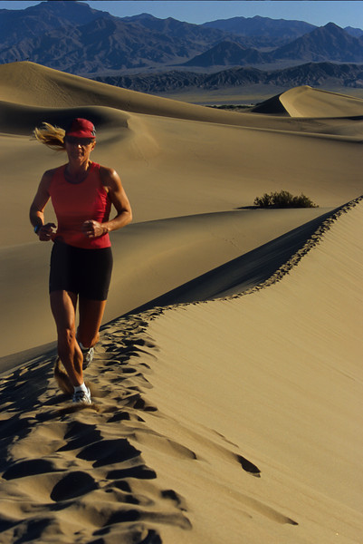 Trail Running Death Valley
