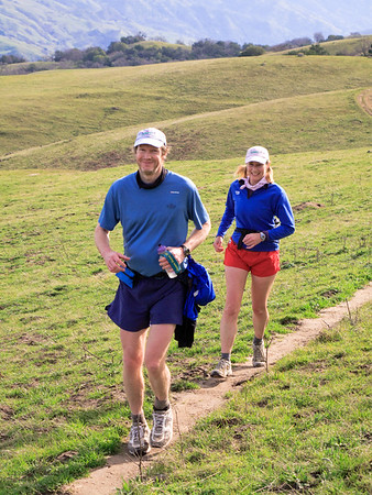 Mission Peak with Don and Gillian