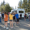 Runners came from far and wide for the kickoff race of the 2010 season of the prestigous Truckee Underground Race series.