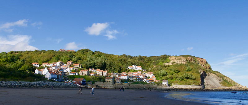 Runswick Bay Village and Beach