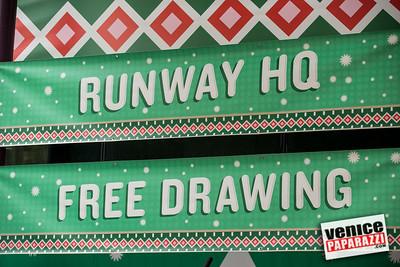 @RunwayPlayaVista Holiday Block Party   #HoHoRunway   www.RunwayPlayaVista.com   Photo by www.VenicePaparazzi.com