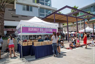 2017 Runway Funday – Rock 'N' Rollin' event.  RunwayPlayaVista.com.  Photo by Venice Paparazzi