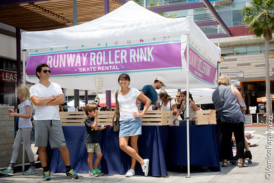 Runway Funday - Rock 'n' Rollin' in Playa Vista, California.  RunwayPlayaVista.com.  Photo by VenicePaparazzi.com