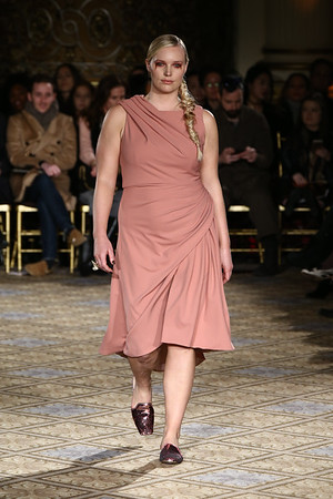 The Christian Siriano Runway Show held at the Plaza Hotel