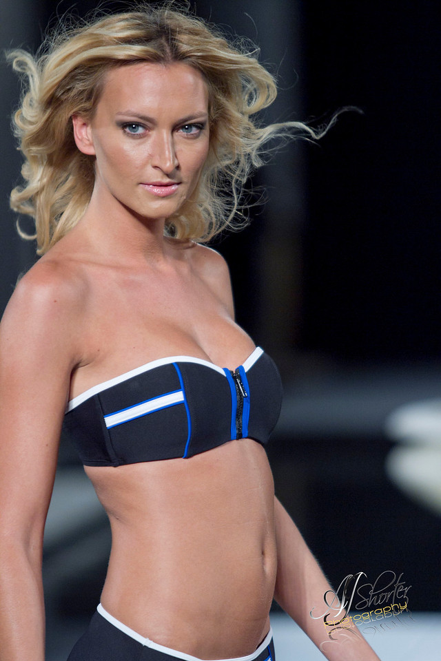 "Eco Swim Collection by Aqua Green   -   <a href=""http://www.ecoswim.com"">http://www.ecoswim.com</a><br /> Models grace the runway with 2012 spring/summer collections."