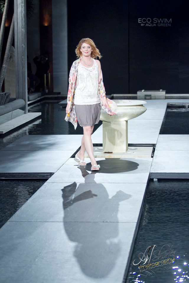 """Eco Swim Collection by Aqua Green   -   <a href=""""http://www.ecoswim.com"""">http://www.ecoswim.com</a><br /> Models grace the runway with 2012 spring/summer collections."""