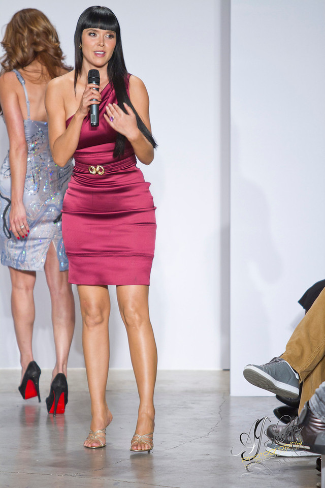 Isabel Toledo; Models grace the runway with 2012 spring/summer collections.