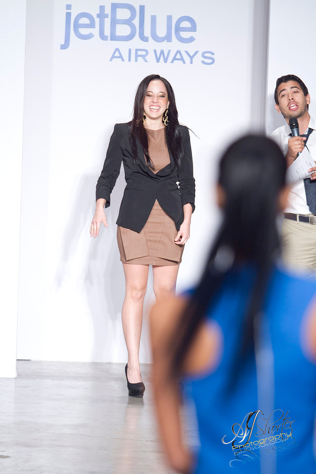 """JetBlue fashion show by MIUAD   -     <a href=""""http://www.artinstitutes.edu/miami/"""">http://www.artinstitutes.edu/miami/</a><br /> Models grace the runway with 2012 spring/summer collections."""