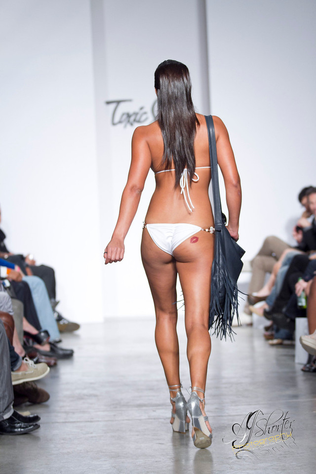 "Toxic Sadie Swimwear   Visit   <a href=""http://www.toxicsadie.com"">http://www.toxicsadie.com</a><br /> Models grace the runway with 2012 spring/summer collections."