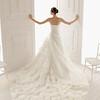 organza; strapless; line; style; lavish; ruffle; skirt; 2013; wedding; dress