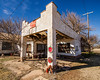 Old gas station in rural Texas