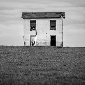 Abandoned Farm House near Bellfalls, Texas