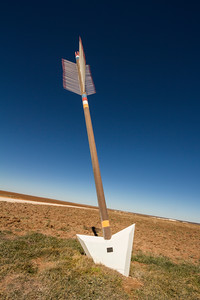 Arrow on Quanah Parker trail