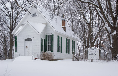 Carmel Church in Winter