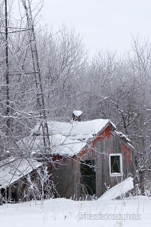 Wellhouse in Winter