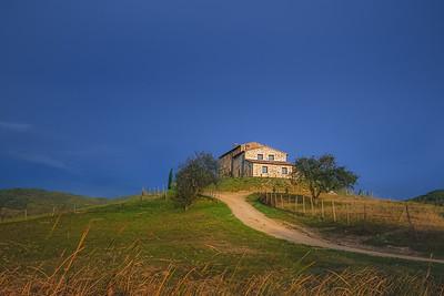 Radicondoli, Tuscany. Italy